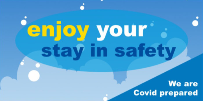 Enjoy your stay in safety. We are COVID prepared.